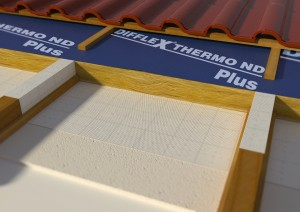 The sarking membrane is placed between the sheathing and the roof tiles. Its quality is vital for the roof's durability.