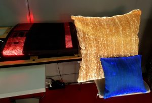Everyone sees the light on the cushions produced by Future Lighting Technologies