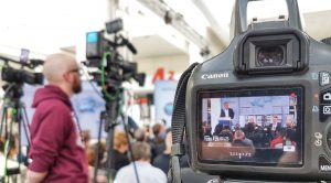 The biggest Techtextil ever: the opening press conference attracted numerous journalists